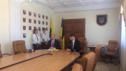 Меморандум про співпрацю між обласною державною ацдміністрацією і компанією KNESS GROUP