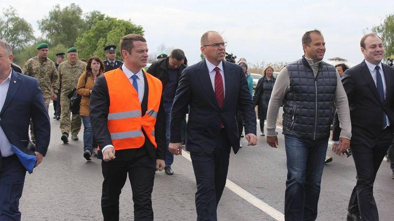 Об'їзна дорога на трасі М-15 Одеса-Рені - район Паланки - 2
