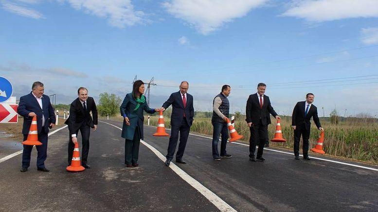 Об'їзна дорога на трасі М-15 Одеса-Рені - район Паланки