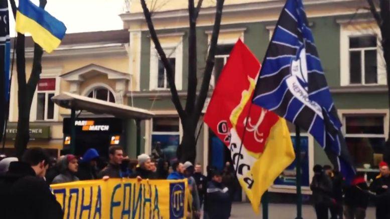 Трагедия 2 мая в Одессе - Соборка