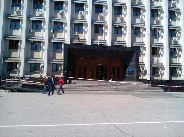 заминирование здания ОГА - 2