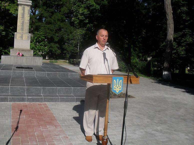 День скорботи и вшанування пам'яті жертв війни - Захарівка - 1