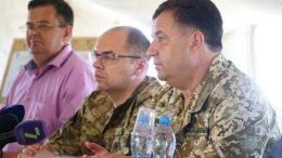 Губернатор та міністр оборони у «Татарбунарському степу»