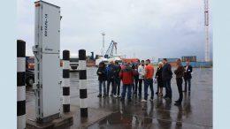Радиационный контроль - Черноморский порт