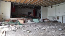 Зруйнований районний Палац культури - Роздільна