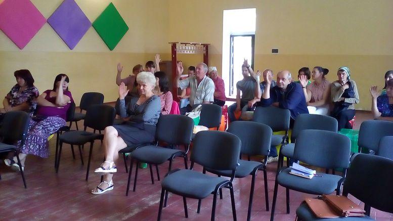 Громадські збори - Захарівський район