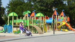 Открытие новой детской площадки - Измаил