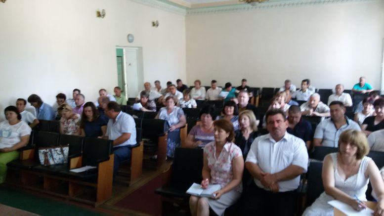 Засідання XVІ сесії Захарівської районної ради - 3