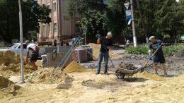 реконструкція тротуарних доріжок - Татарбунари