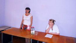 зустріч голови райдержадміністрації в Миколаївській ЦРЛ