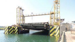 Ильичевский морской порт - ремонт причала