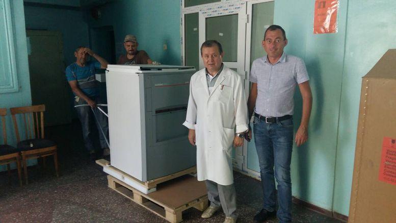 апарат по обробці ренгенплівки - Березівка