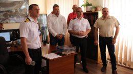 делегація Ризького торгового порту