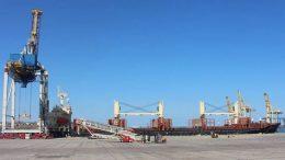 порт Черноморска - зерно