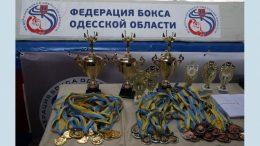 Чемпионат Одесской области среди боксеров
