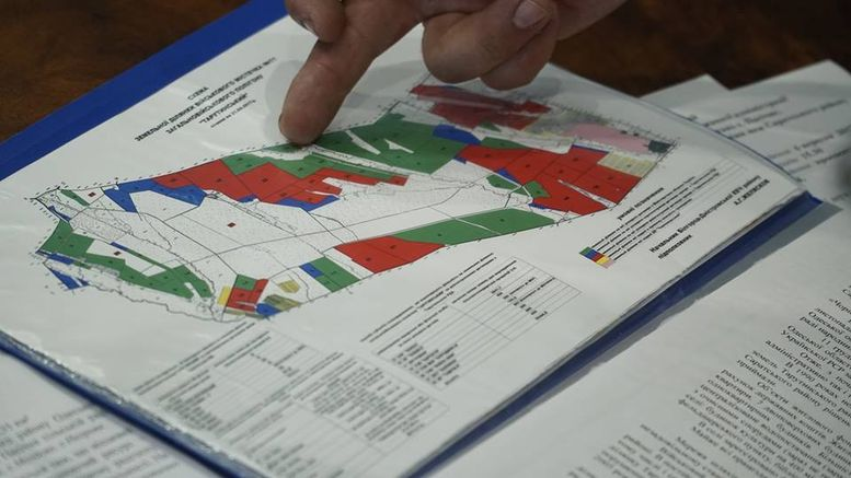 Схема передачі села Пасічне