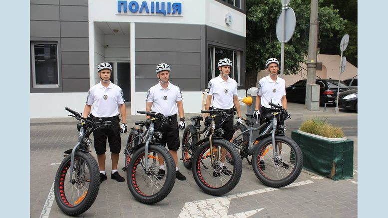 Велопатрулі - Одеса