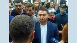 акція протесту проти корупції - прокурор Одеської області Олег Жученко