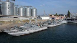 артилерійські катери - Одеса