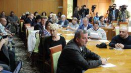 засідання тимчасової комісії - табір «Вікторія»