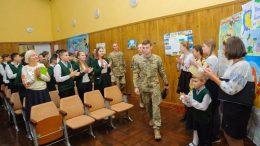 До гімназії №7 (м.Одеса) завітали військовослужбовці