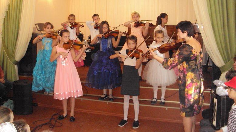 «Посвящение в юные музыканты» - Арциз