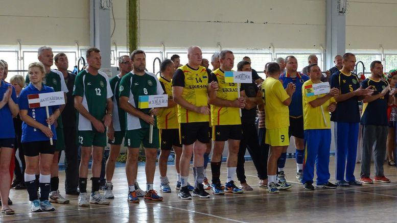 Турнір з волейболу серед ветеранів «Летючий м'яч» - Ізмаїл