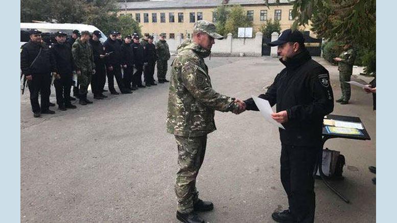 одеські поліцейські - День захисника України
