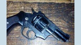 добровільно здали газовий револьвер