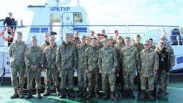 порт «Южний» - екскурсія - військовослужбовці
