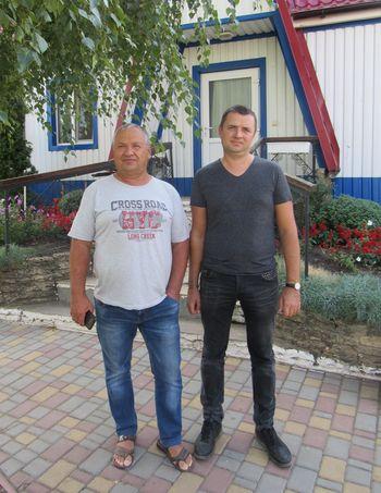 Володимир ПЛАКУЩЕНКО з сином Євгеном