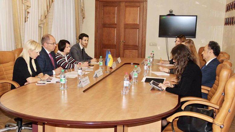 зустріч голови ОДА Максима Степанова та Посла ЄС в Україні Хьюго Мінгареллі