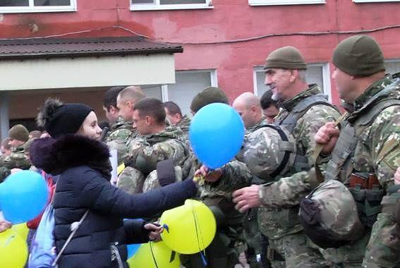 бійці підрозділу «Шторм» - схід України - 2