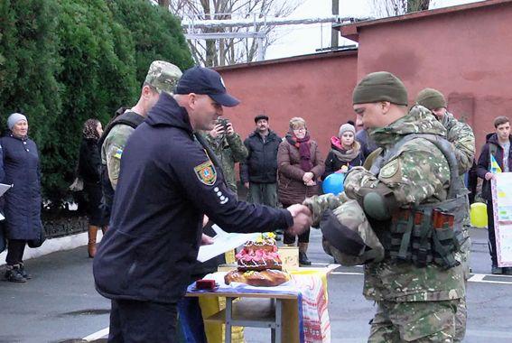 бійці підрозділу «Шторм» - схід України - 1