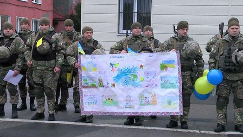 бійці підрозділу «Шторм» - схід України