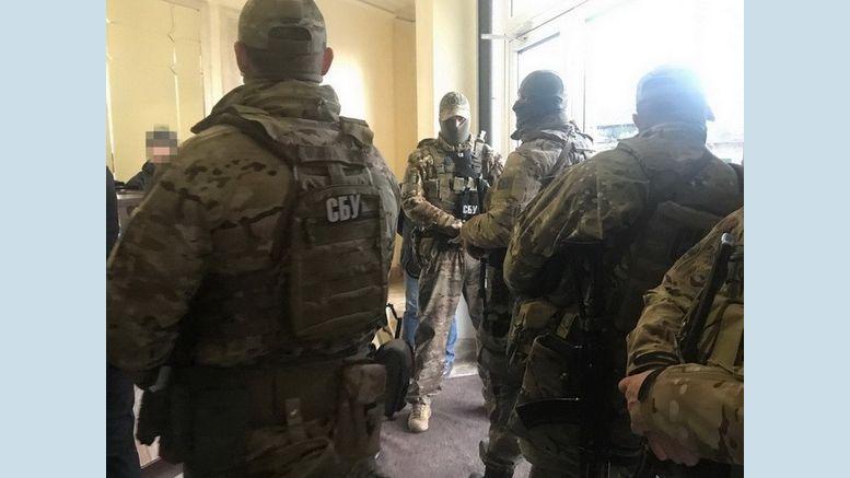 колишньный депутат одеської міськради - СБУ обшук