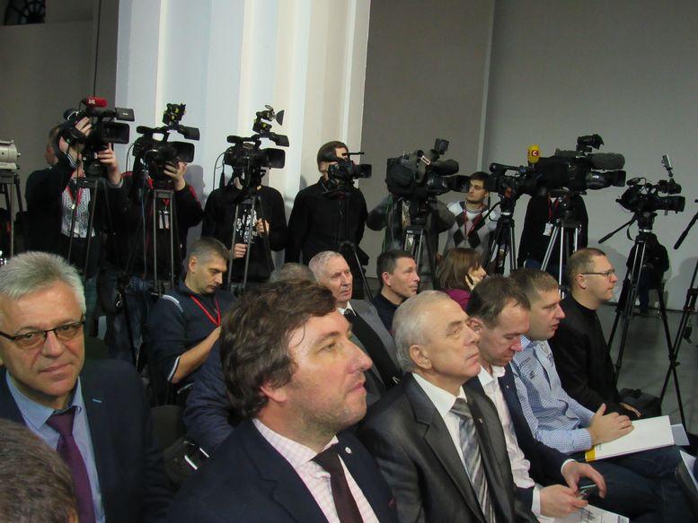 з'їзд політичної партії «Народний фронт» - Остапенко