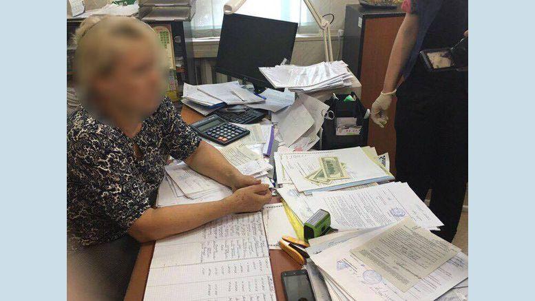 одеський реєстратор - хабар