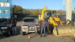 підготовка транспортних засобів - порт Южний