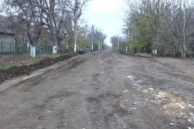 ремонт доріг - Ширяєве - 1