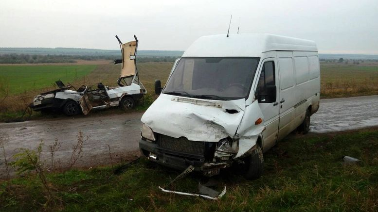 смертельна аварія - Мирнопілля