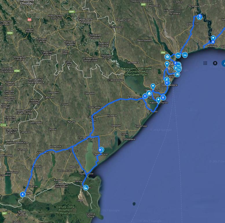 туристичний маршрут «Подорожуй активно Південною Пальмірою» - 1