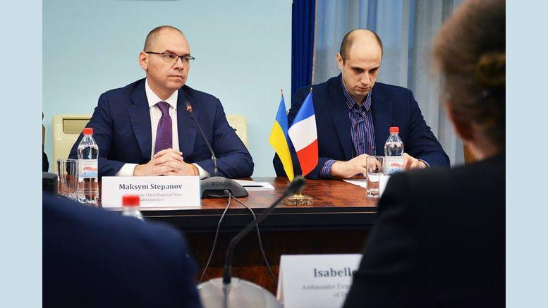 зустріч голови ОДА із Надзвичайним і Повноважним Послом Франції в Україні