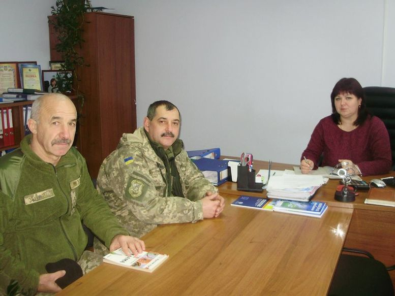 День Збройних Сил України - Окнянський районний центр зайнятості - 1