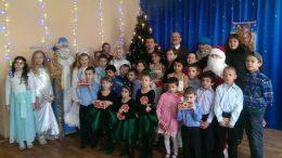 Измаильский отдел полиции - центр реабилитации детей - День Святого Николая