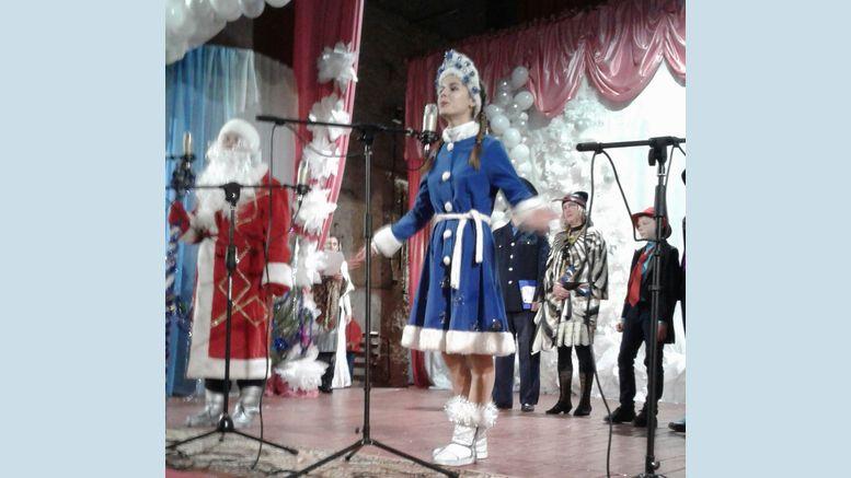 новорічне свято для дітей - Велика Михайлівка