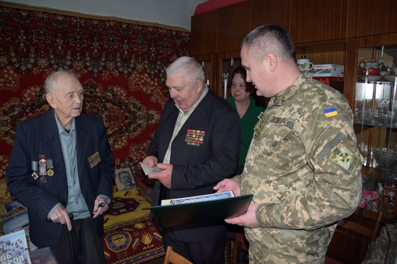 полковник Антон Петрович Гапонов - юбилей - Измаил - 2