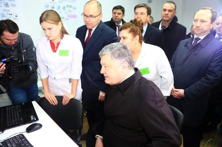 проект телемедицини - Окни - президент - Одеська область - 1