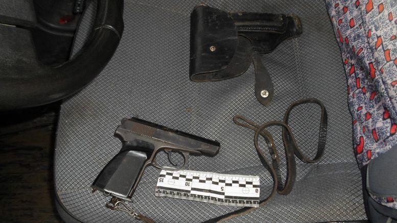 следствие - угроза пистолетом подростку - Измаил - полиция