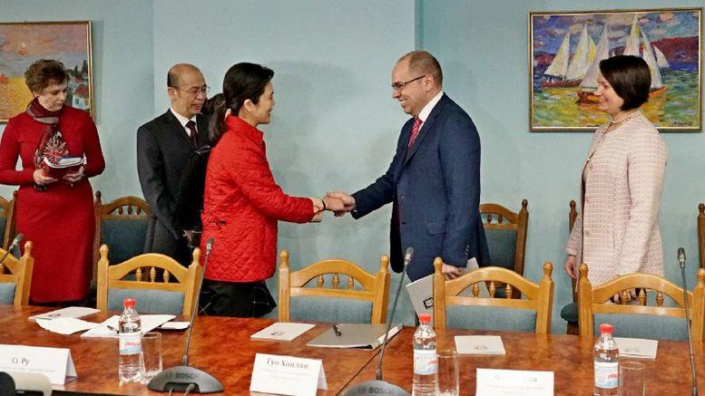 співпраця між Одеською областю та китайською провінцією Цзянсі